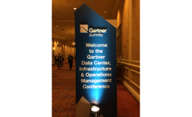 The Gartner Data Center, Infrastructure & Operations Management Conference was held December 5-8, 2016 in Las Vegas