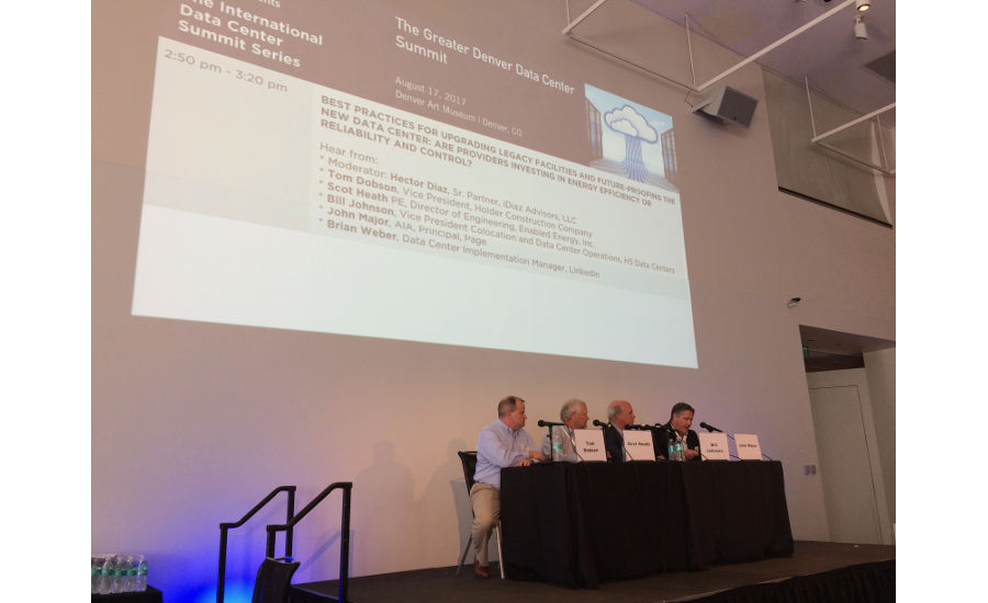 "A panel discussed, ""Best Practices for Upgrading Legacy Facilities and Future-Proofing the New Data Center: Are Providers Investing in Energy Efficiency or Reliability and Control?"""