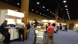 exhibit floor Gartner