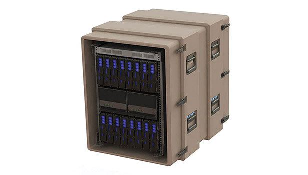 data center built into a rugged case