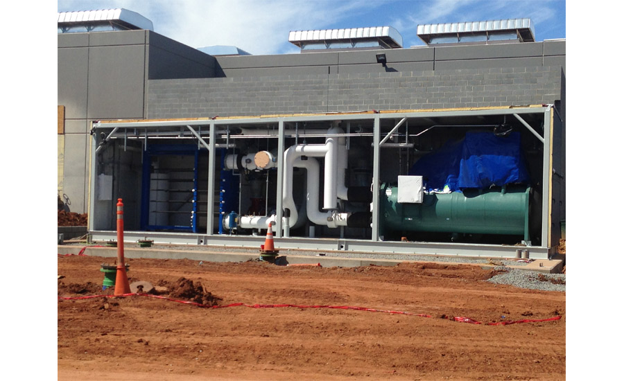RagingWire Data Centers, new chiller