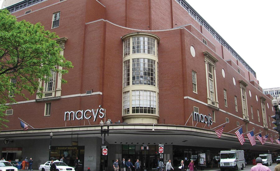 FIGURE 1. Don't be misled by that Macy's sign; behind it lies an 800,000-sq-ft data center. Photo courtesy of The Copper Development Association