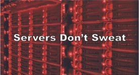 Servers Don't Sweat graphic