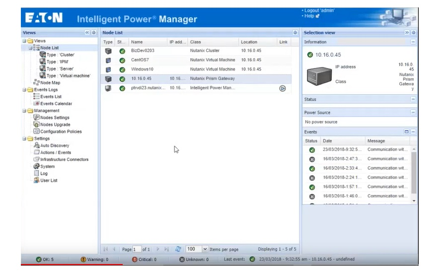 Intelligent Power Manager Software from Eaton | 2018-06-22