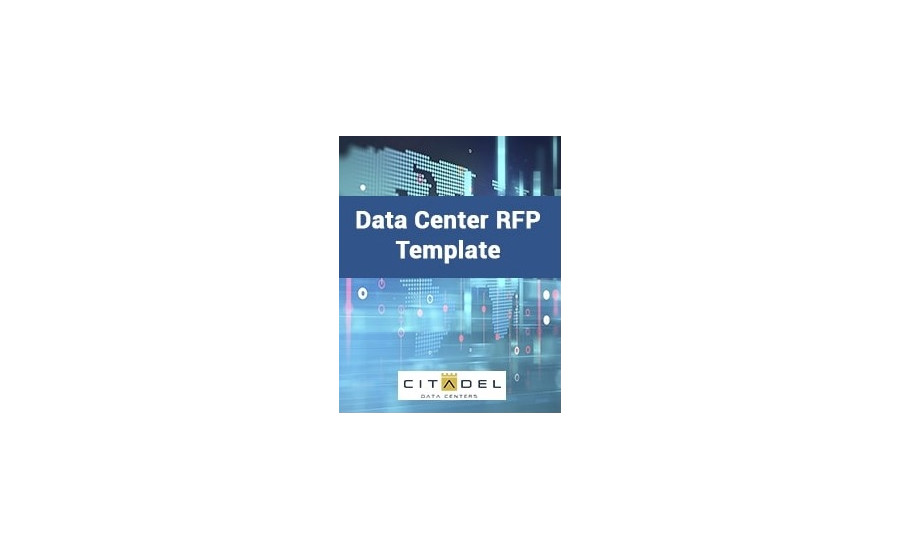 New Data Center Request for Proposal (RFP) Template from