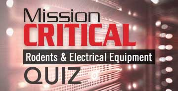 Rodents & Electrical Equipment Quiz