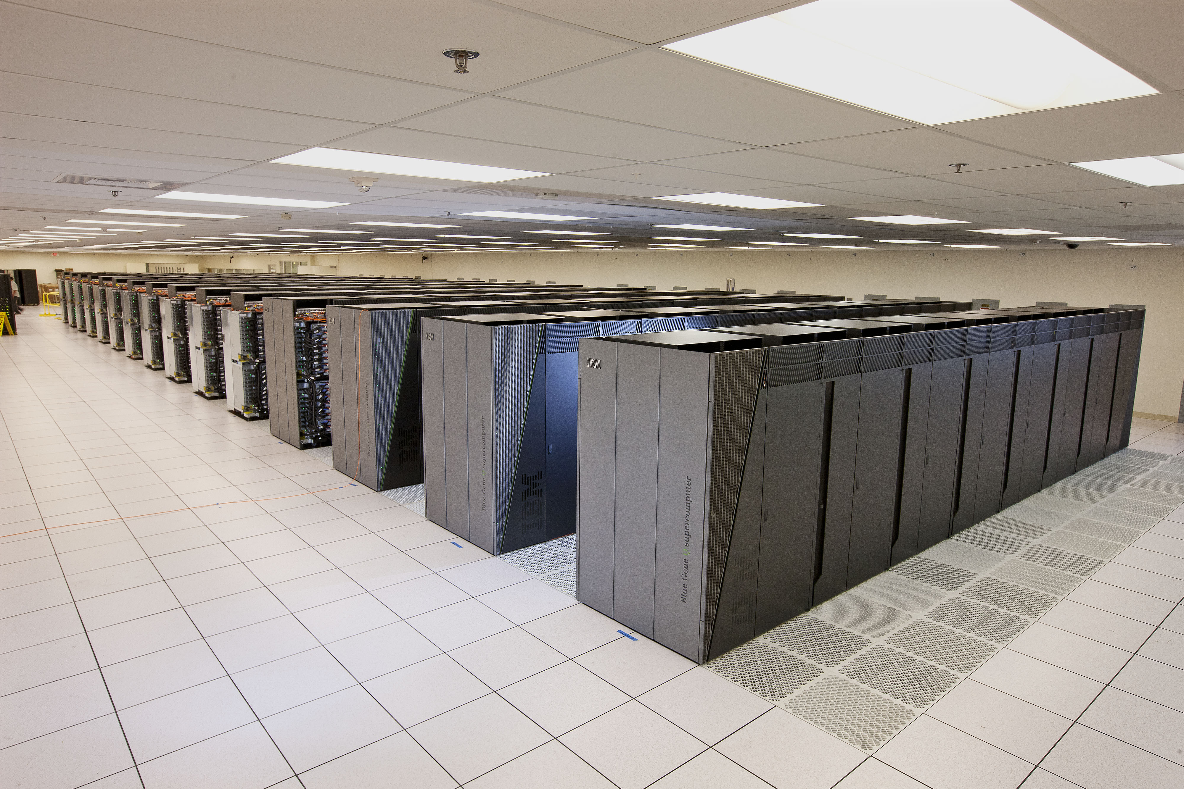 Sequoia supercomputer at Lawrence Livermore National Laboratory