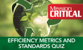Data Center Energy Efficiency Metrics and Standards