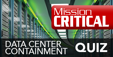 Data Center Containment Quiz