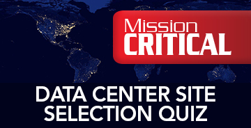 Data Center Site Selection Quiz