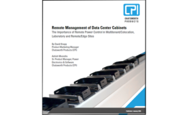 Main Image- Remote Management of Data Center Cabinets- Chatsworth